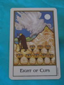 new palladini tarot eight of cups