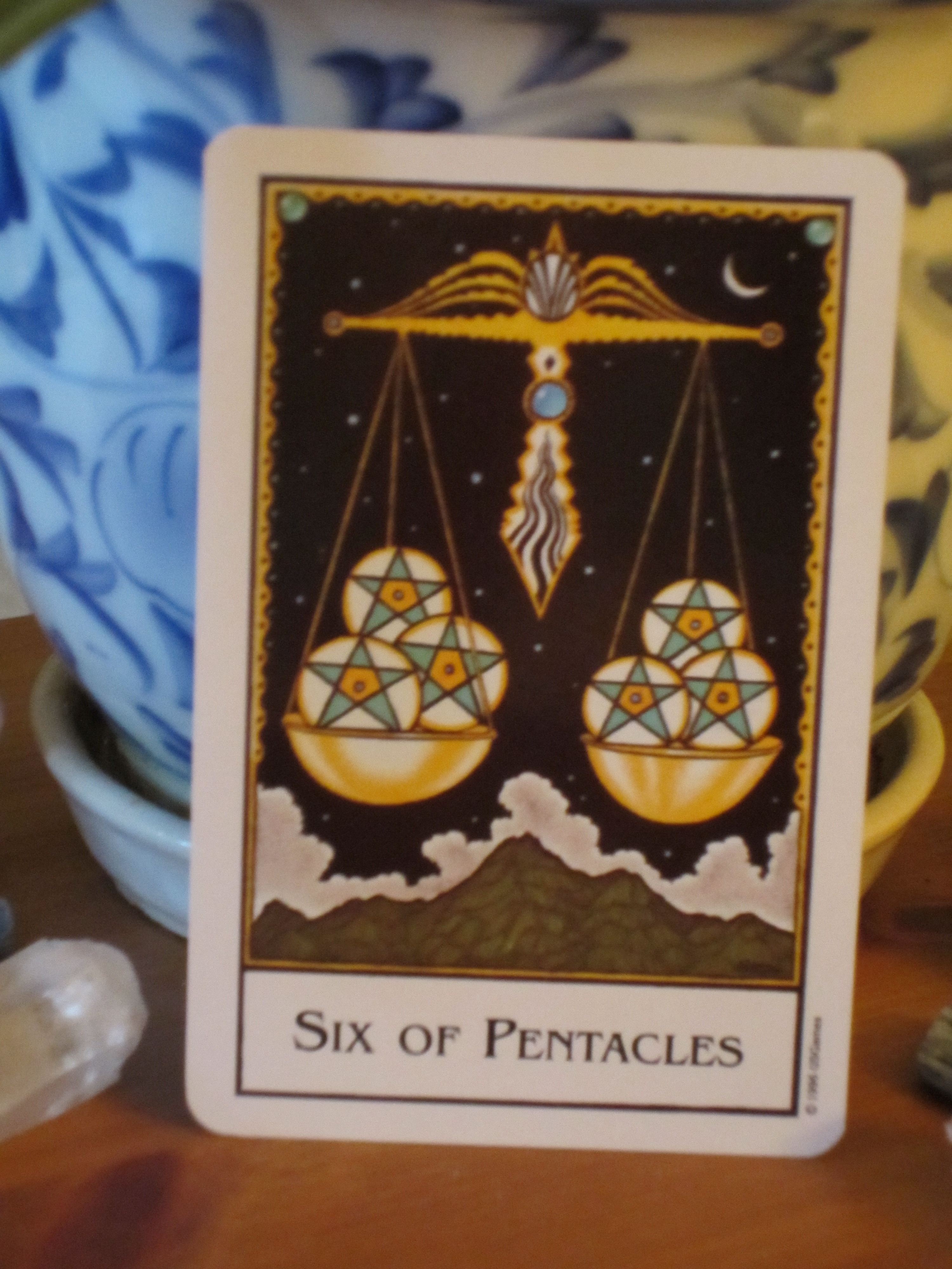 Six Of Pentacles ~ Daily Tarot Reading For Friday!