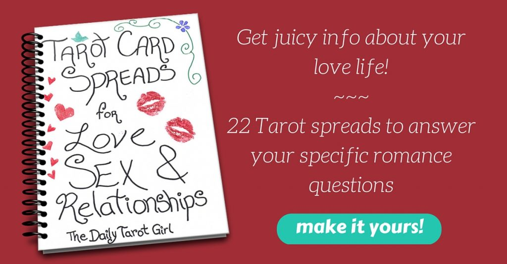 tarot spreads book