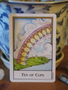 new palladini tarot ten of cups
