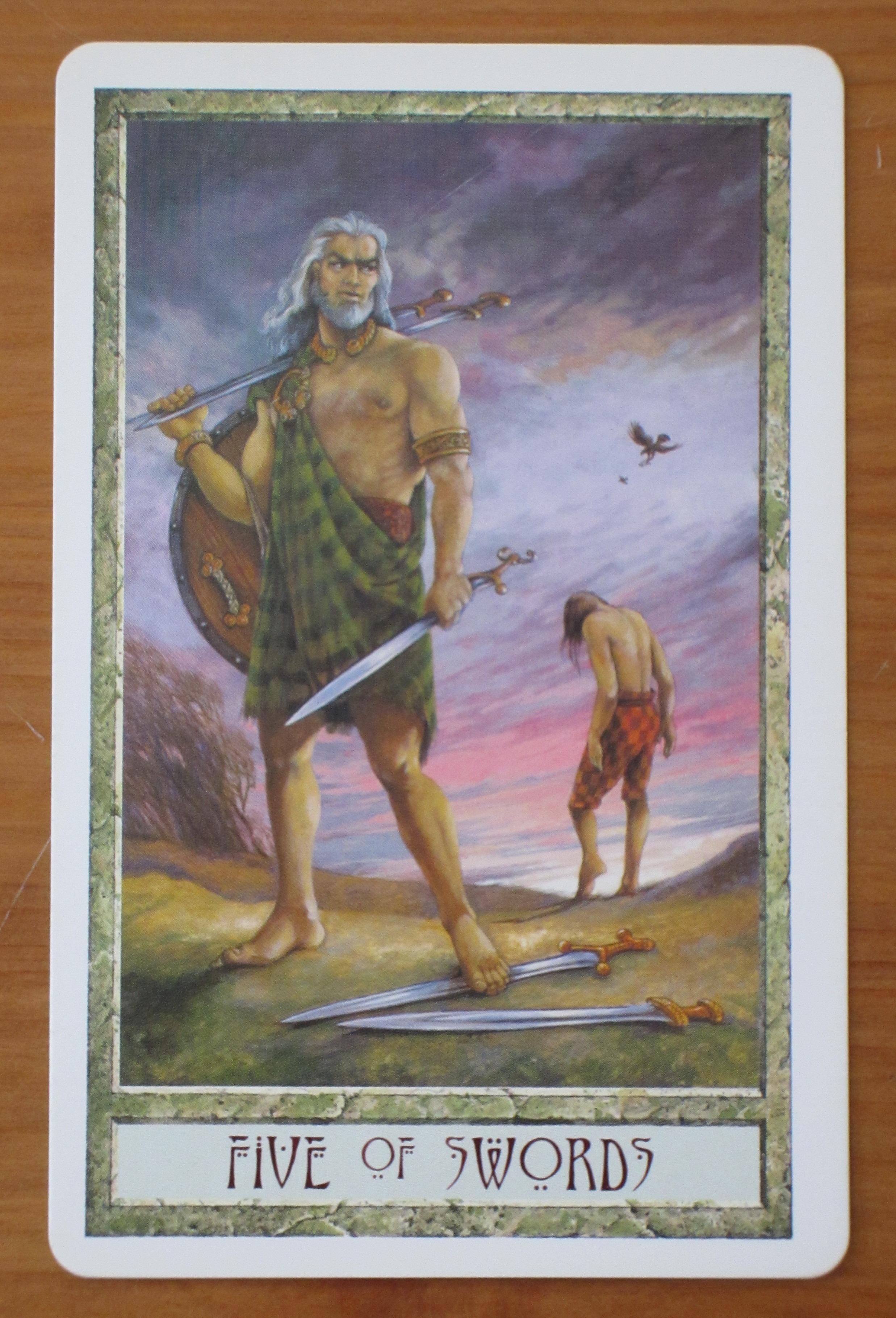 Five Of Swords Tarot Card Reading For Thursday