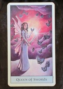 crystal visions tarot queen of swords