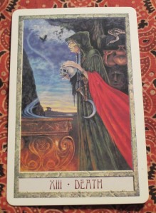 druidcraft tarot death card