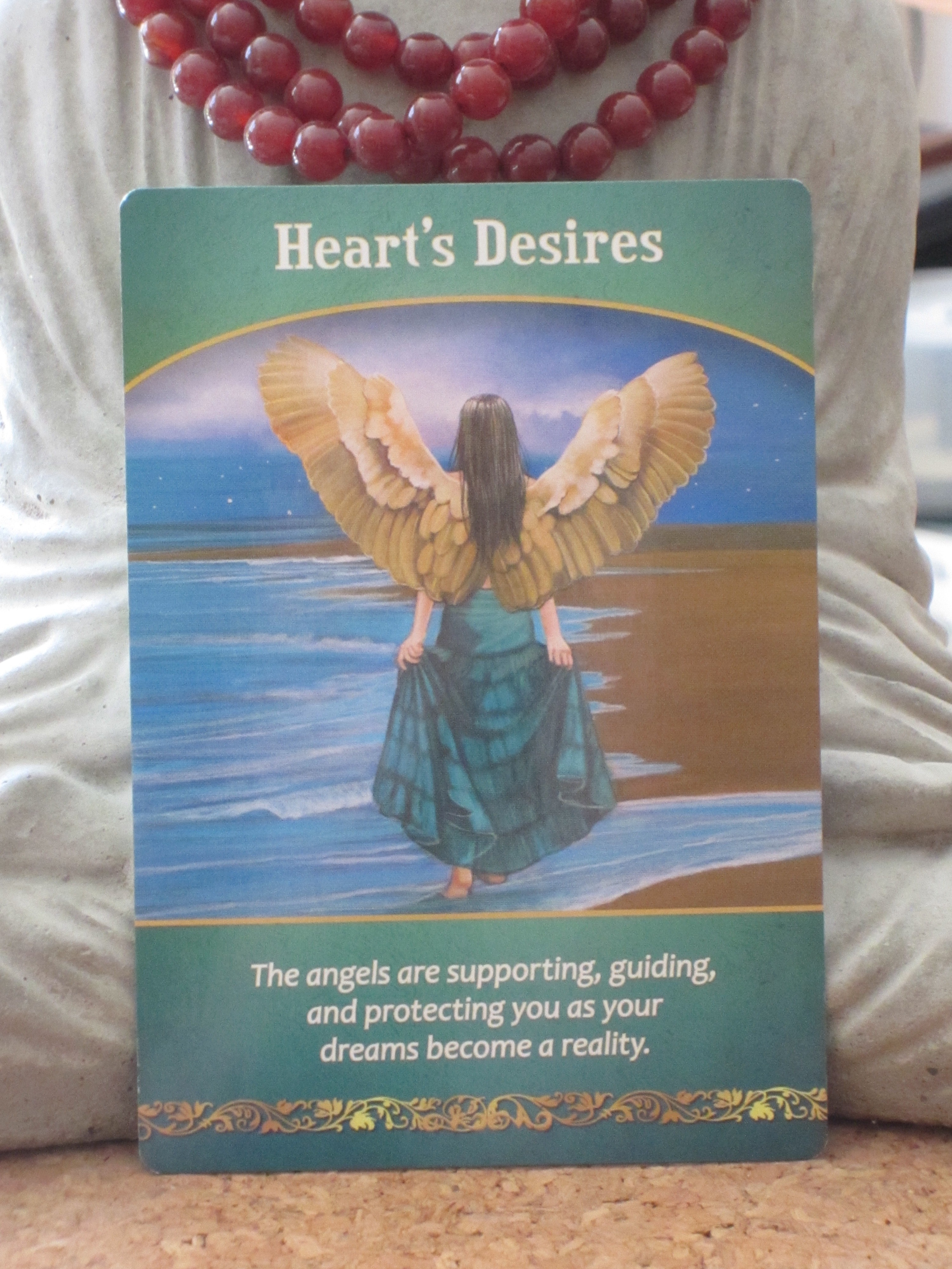 Oracle Card Accept Heaven S Help: Life Purpose Oracle Cards By Doreen Virtue