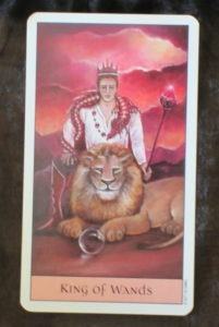 king of wands crystal visions tarot